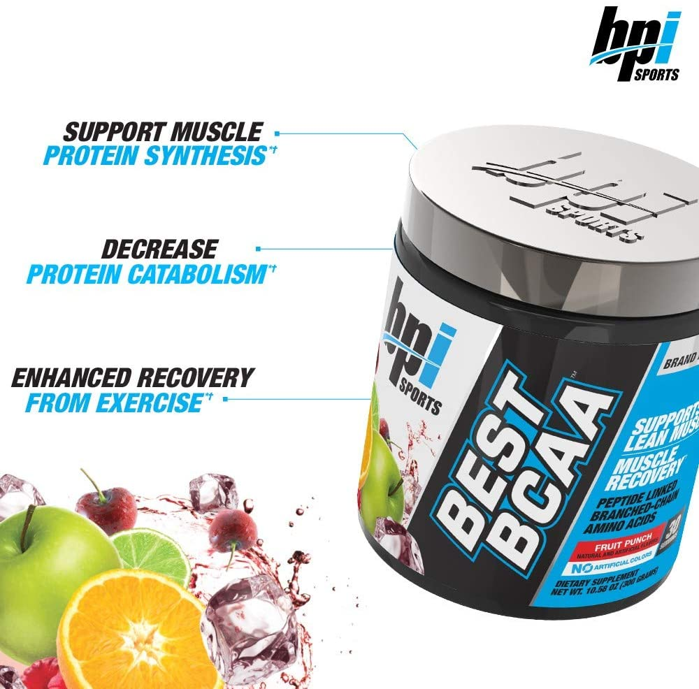BPI Sports Best BCAA - BCAA Powder - Branched Chain Amino Acids - Muscle Recovery - Muscle