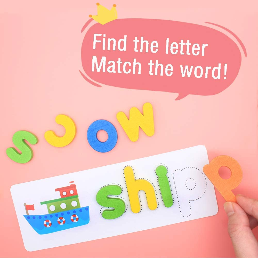 LiKee See and Spell Learning Toys Sight Words Games ...