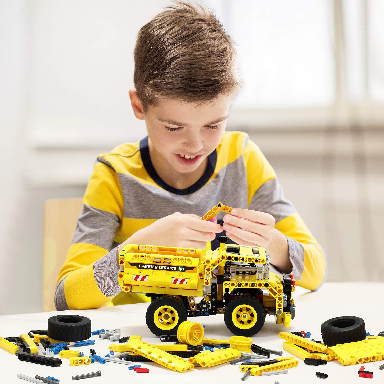 STEM Toy Building Sets for Boys 8-12 - 361 Pcs ...
