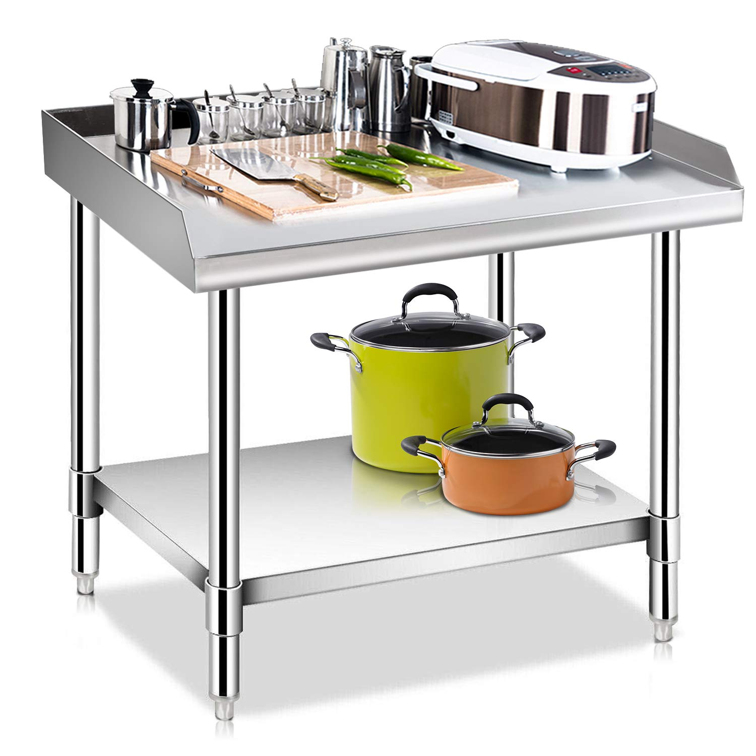 KITMA Stainless Steel Equipment Grill Stand with ...