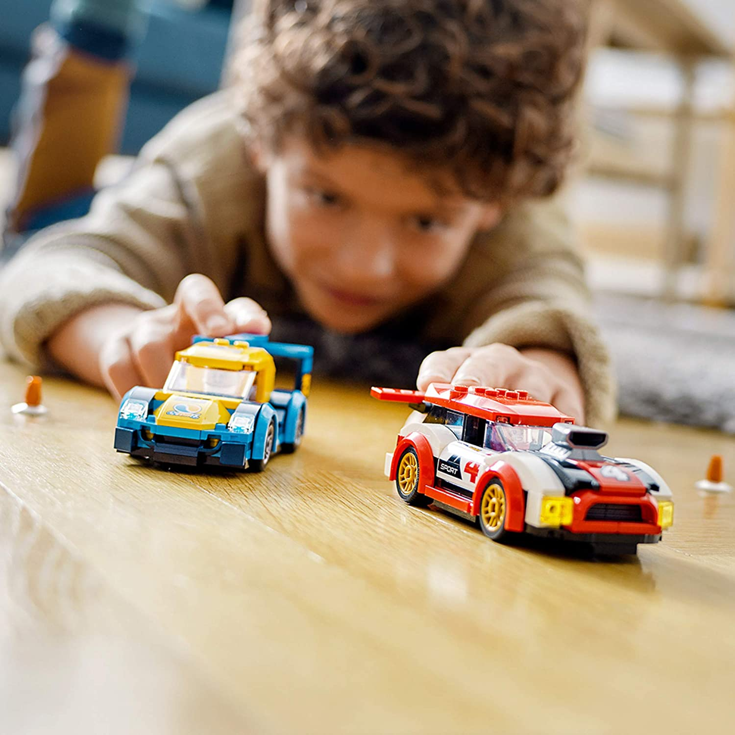 LEGO City Racing Cars 60256 Fun, Buildable Toy for Kids ...