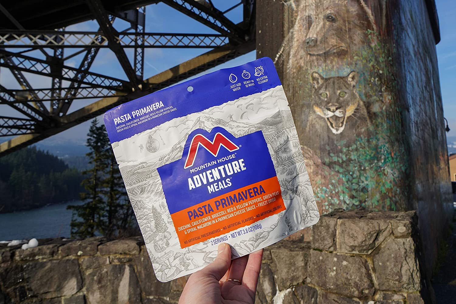 Mountain House Pasta Primavera | Freeze Dried Backpacking ...
